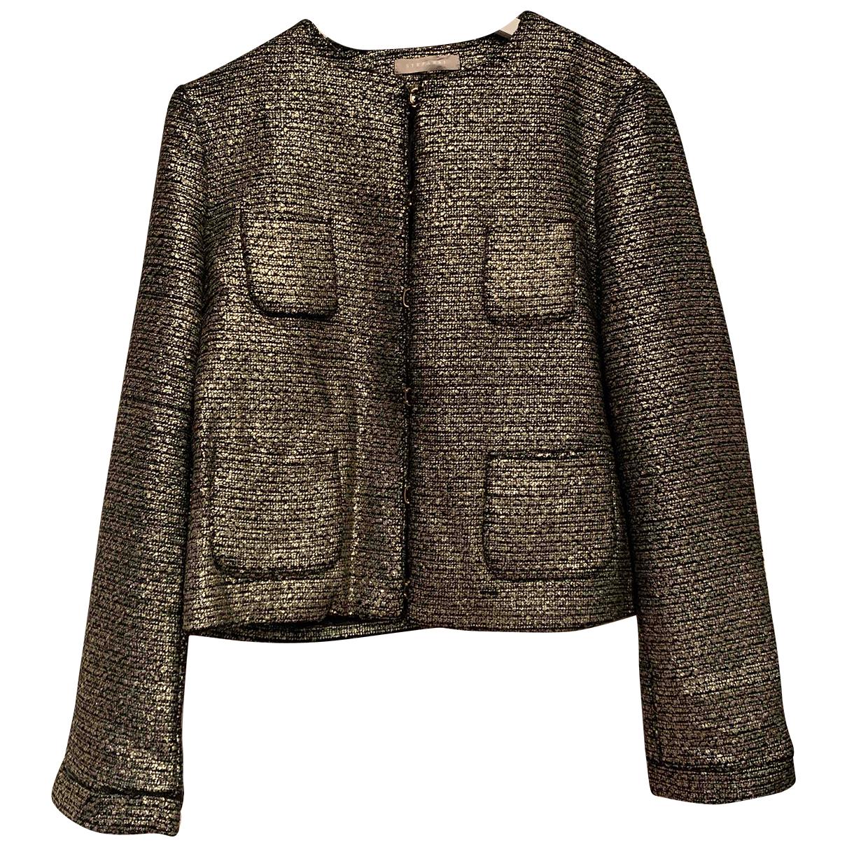 Stefanel N Gold jacket for Women 44 IT
