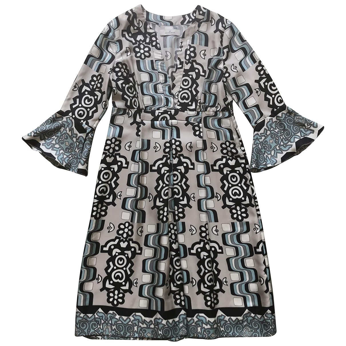 By Malene Birger - Robe   pour femme en soie - multicolore