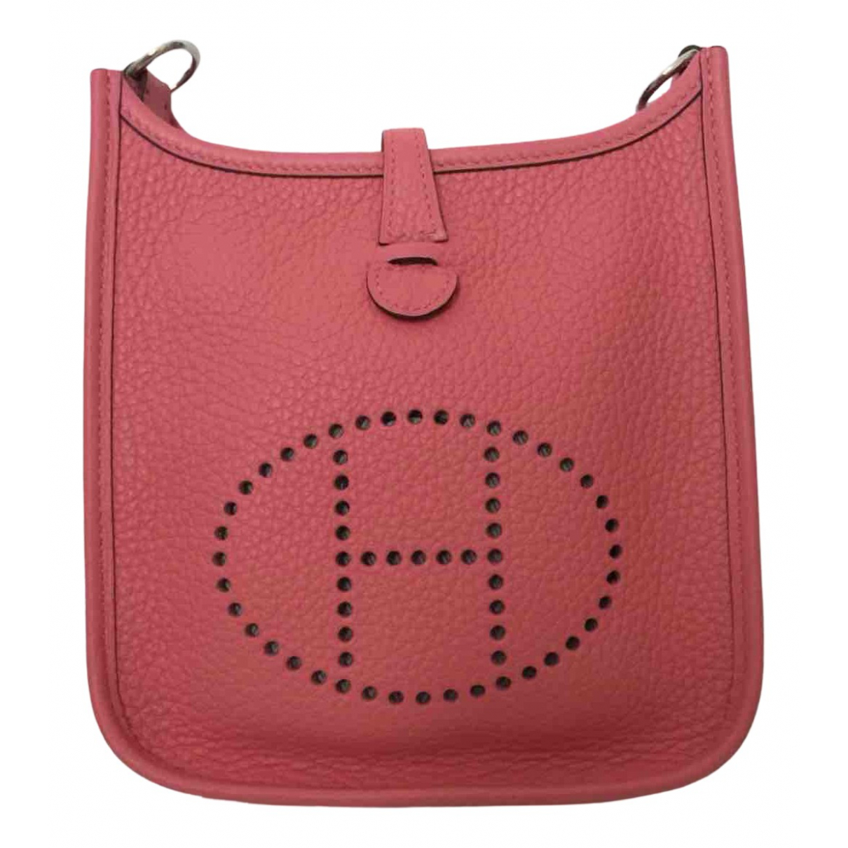 Hermes Evelyne Handtasche in  Rosa Leder