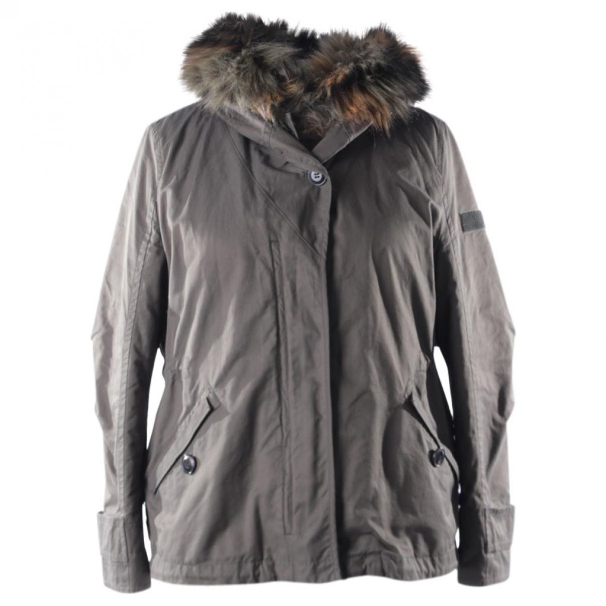 Marc Cain \N Green Cotton jacket for Women L International