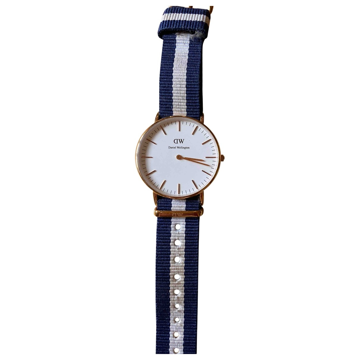 Daniel Wellington \N Blue Steel watch for Women \N