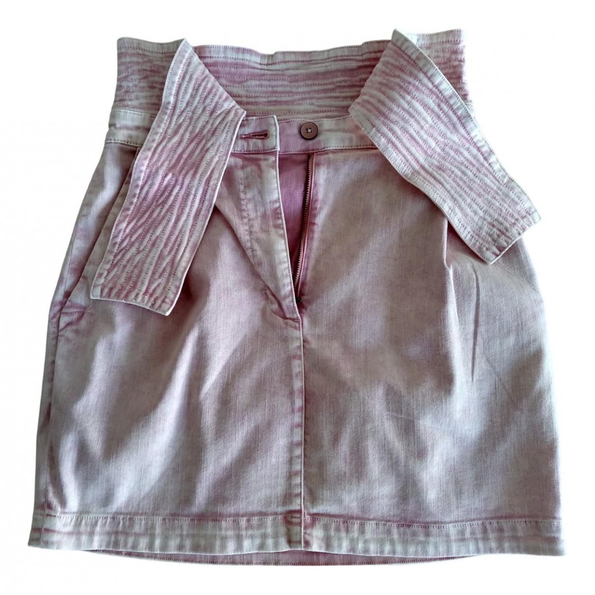 Ulla Johnson - Jupe   pour femme en coton - rose