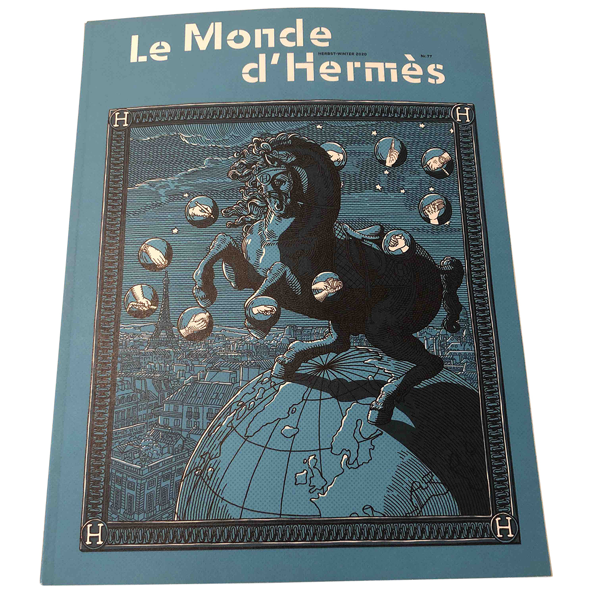 Hermes - Design   pour lifestyle en coton