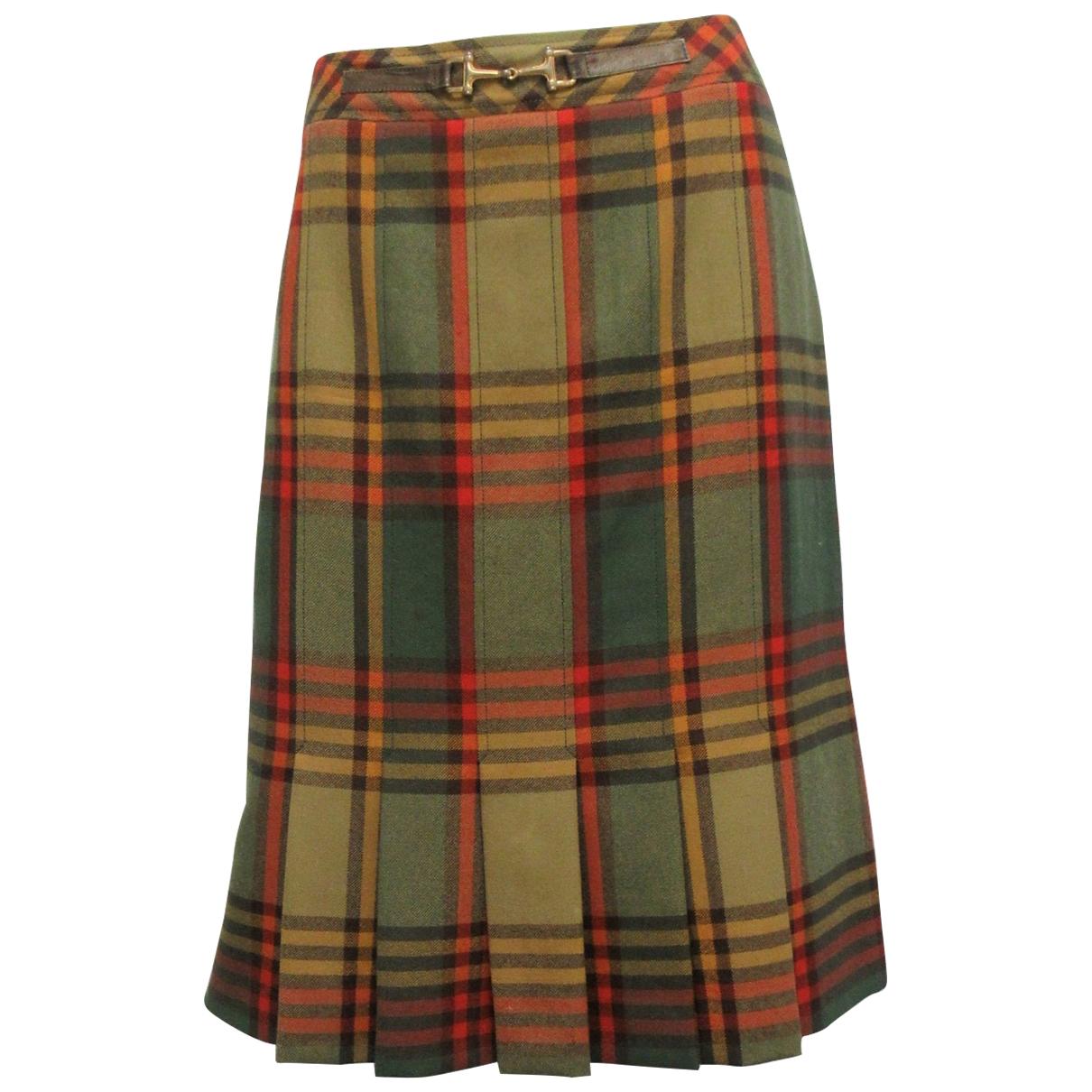 Celine \N Multicolour Wool skirt for Women L International