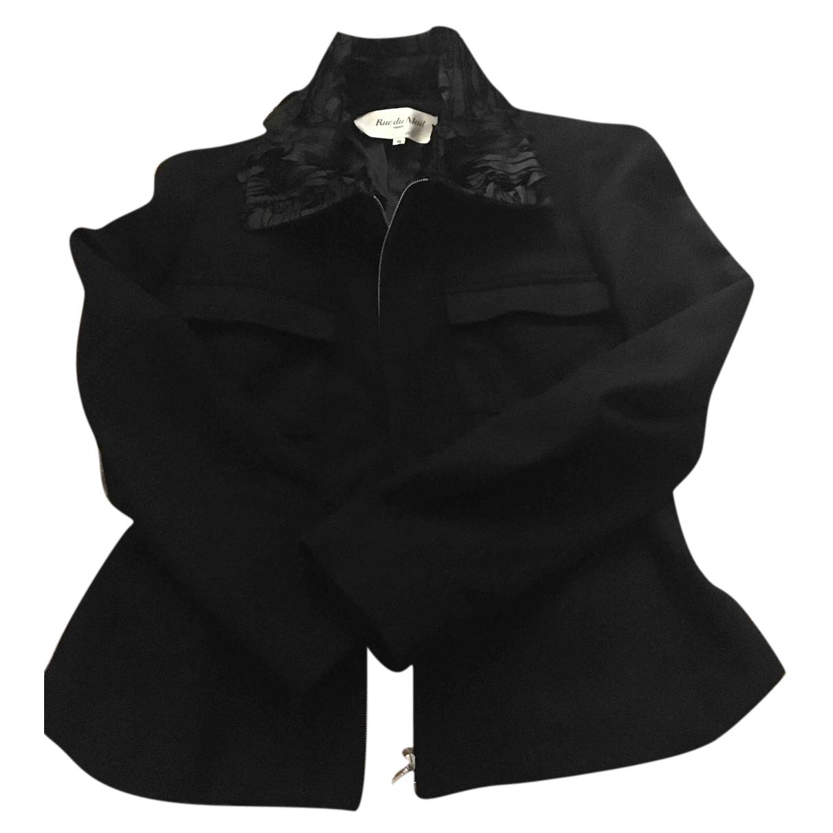 Rue Du Mail - Veste   pour femme en laine - noir