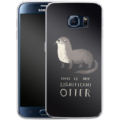 Samsung Galaxy S6 Silikon Handyhuelle - This Is My Significant Otter von Louis Ros