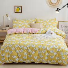 Floral Bedding Sets Without Filler