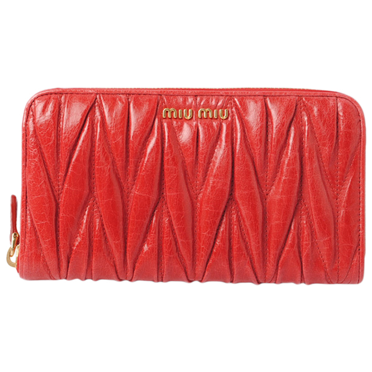 Miu Miu \N Red Leather wallet for Women \N