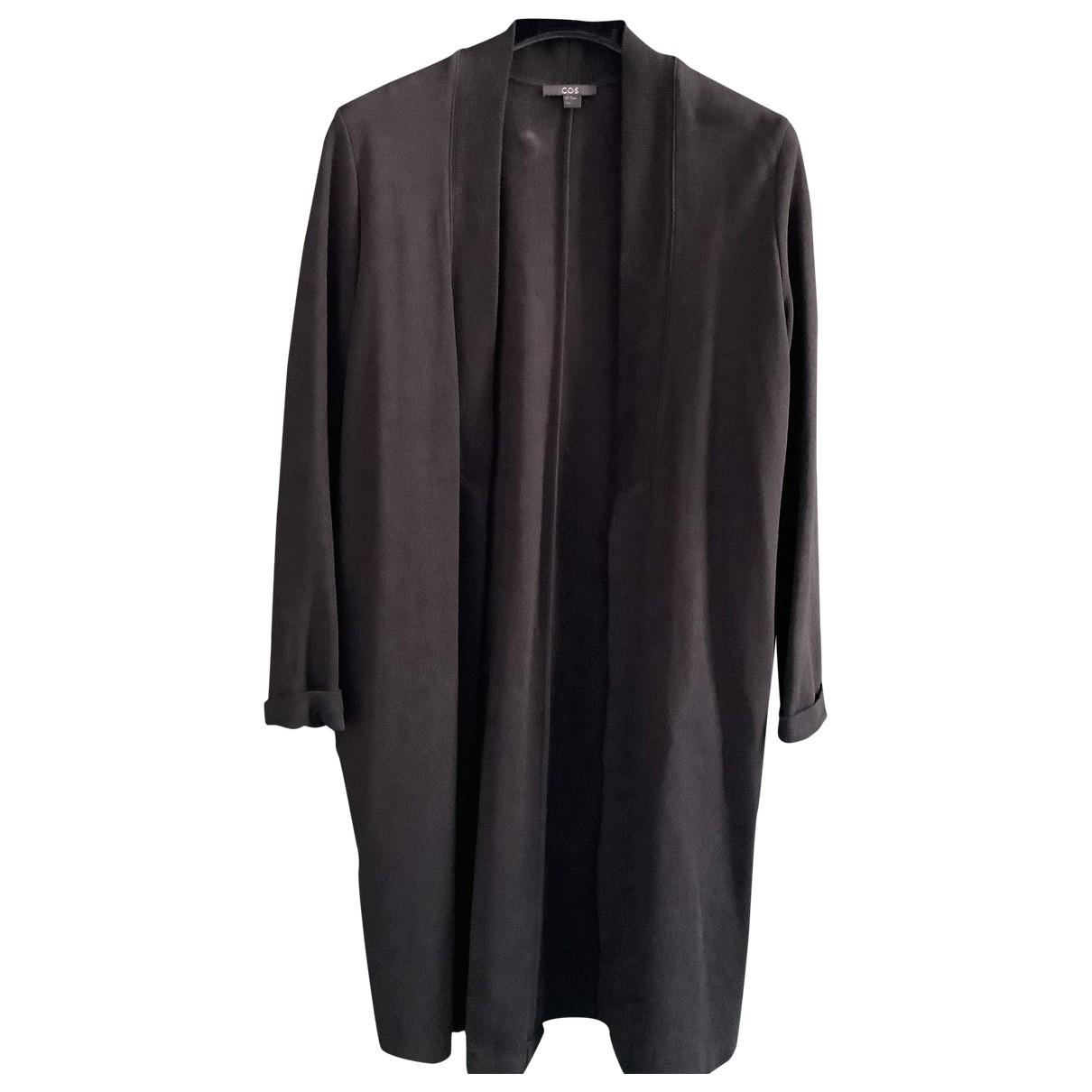 Cos - Veste   pour femme en coton - noir