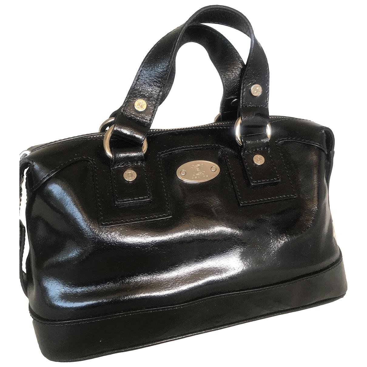 Celine \N Black Leather handbag for Women \N