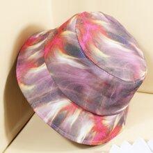 Sombrero cubo con dibujo