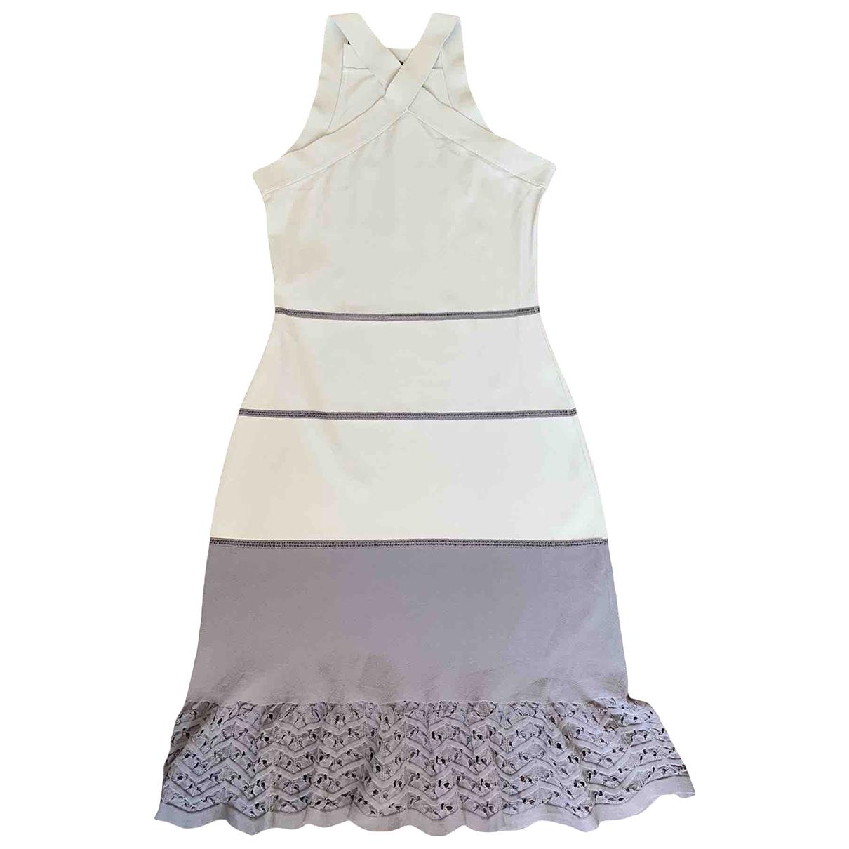 Fendi \N Kleid in  Bunt Viskose