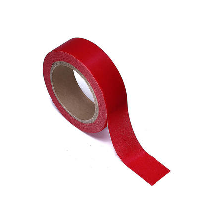 Washi Tape Red 15mmX10m 1Pcs LIVINGbasics™