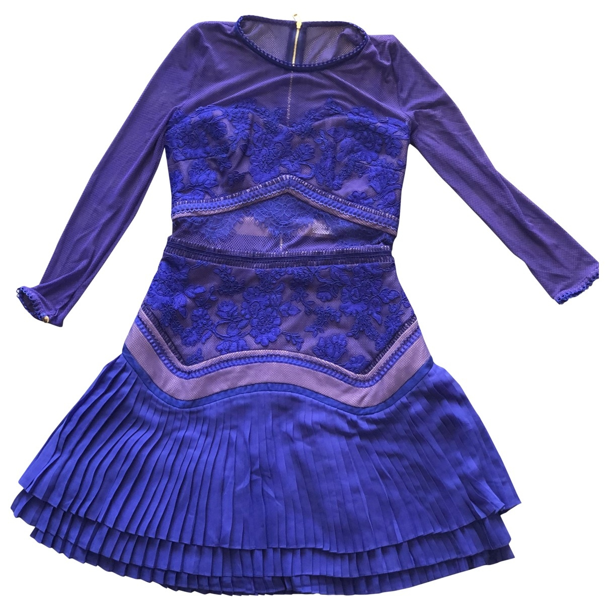 Three Floor Fashion \N Blue Lace dress for Women 8 UK