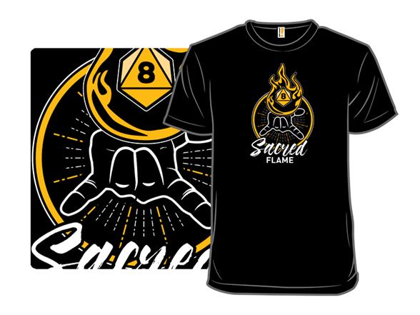 Sacred Flame T Shirt