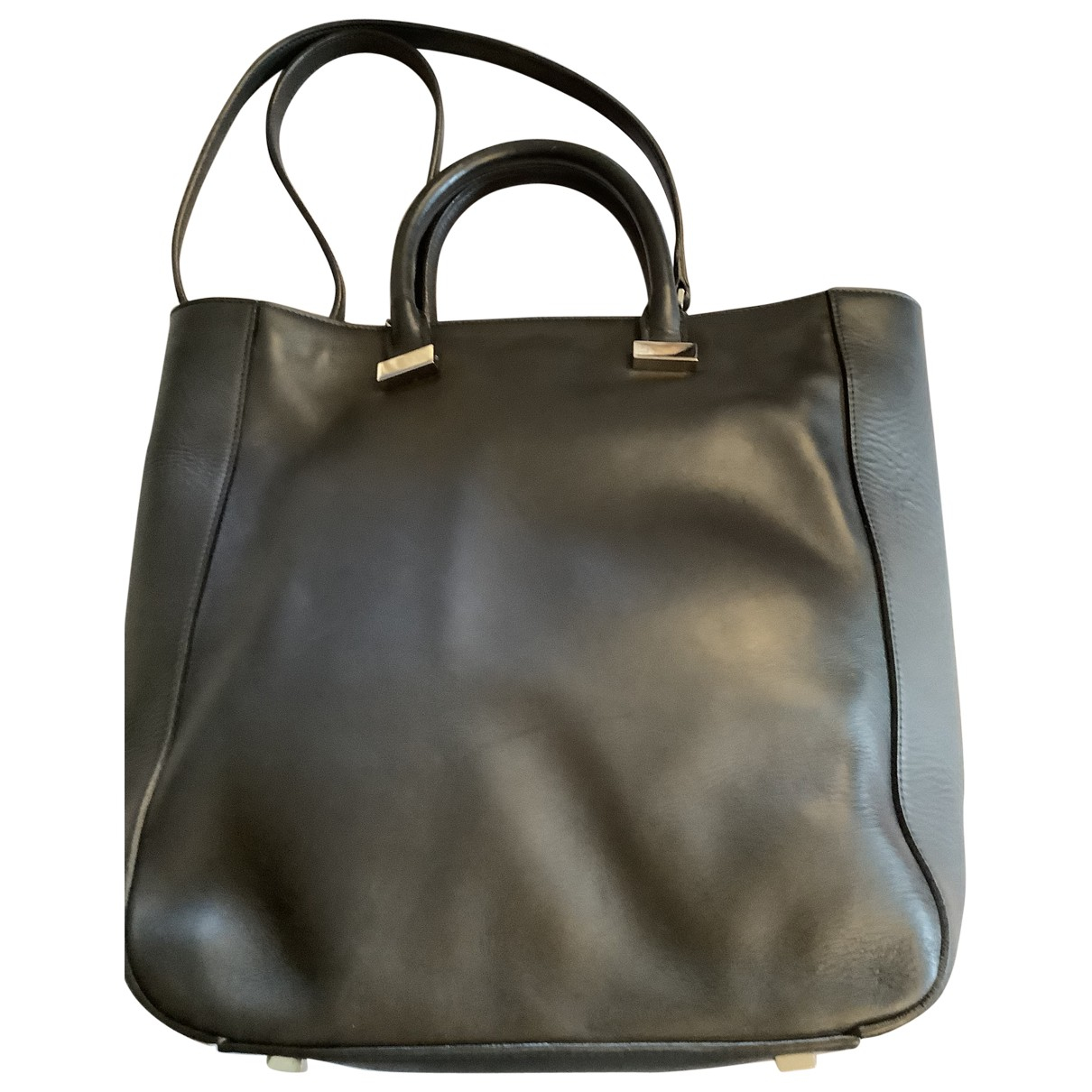 The Row \N Handtasche in  Schwarz Leder