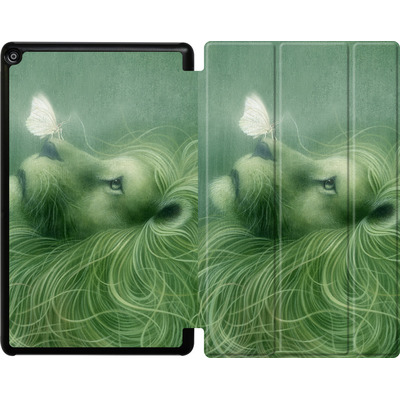 Amazon Fire HD 10 (2017) Tablet Smart Case - In the Calm of the Pale Moonlight von Dan May