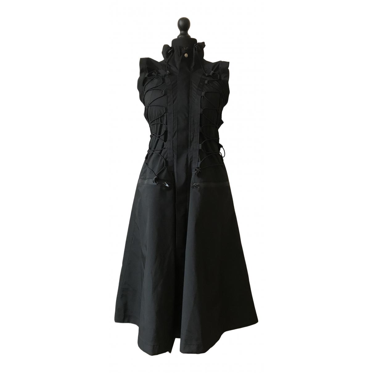 Junya Watanabe \N Kleid in  Schwarz Synthetik