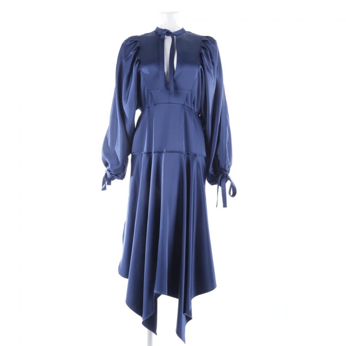 Self Portrait - Robe   pour femme - bleu