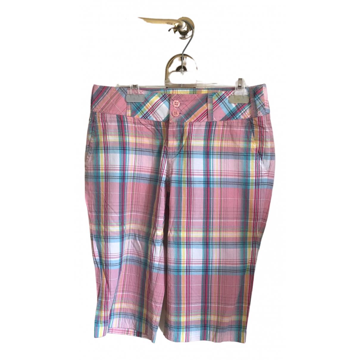 Lacoste \N Shorts in  Bunt Baumwolle