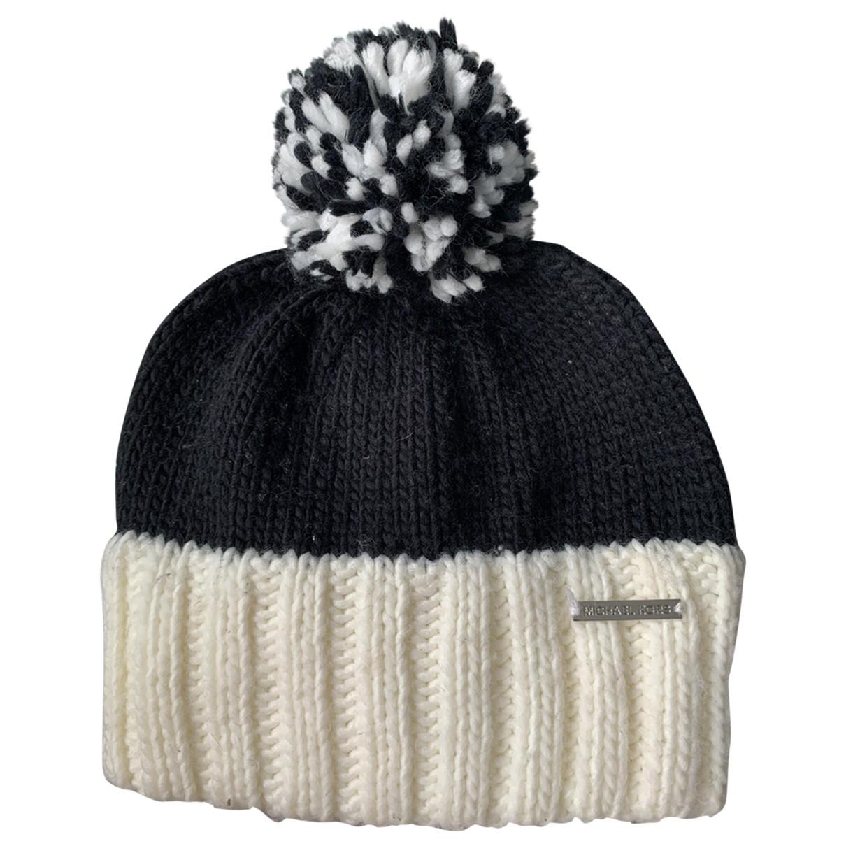 Michael Kors - Chapeau   pour femme en laine - noir