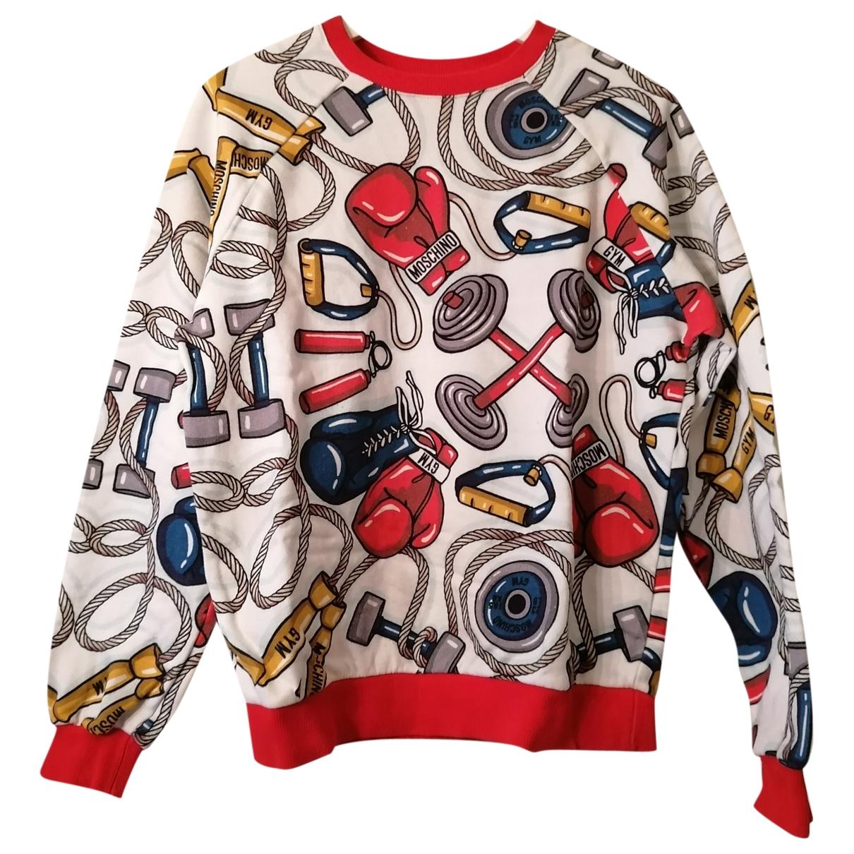 Moschino \N Pullover.Westen.Sweatshirts  in  Bunt Baumwolle
