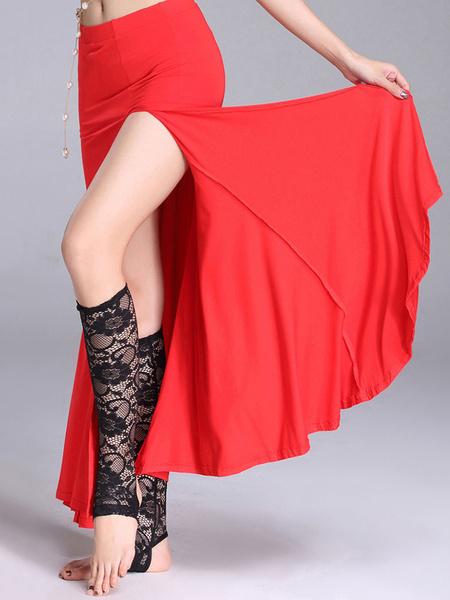 Milanoo Disfraz Halloween Traje de danza del vientre mujer Ocean Blue Split falda larga Carnaval Halloween