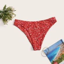Bikini Hoschen mit Bluemchen Muster