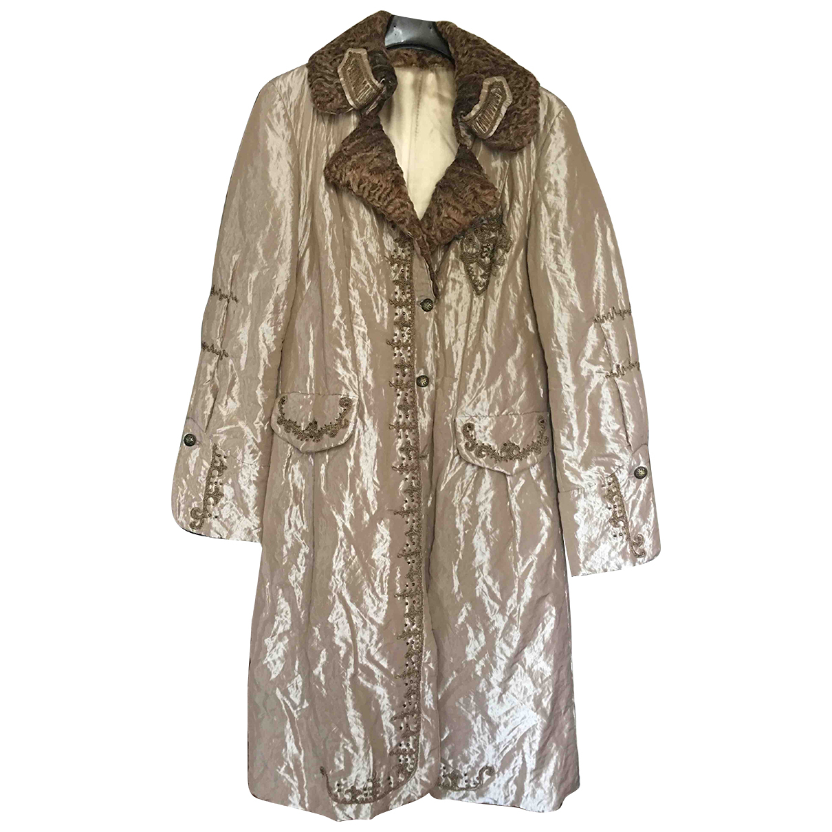Non Signé / Unsigned N Metallic coat for Women 42 IT
