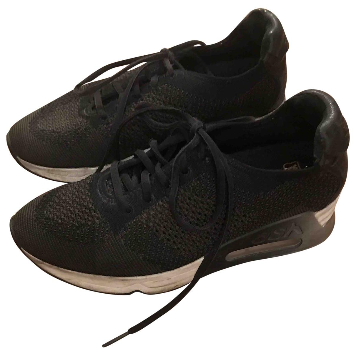 Ash \N Sneakers in  Schwarz Polyester