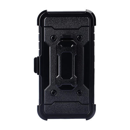 Housse de transport combo holster pour iPhone 6 Plus/7 Plus/8 Plus - noir - PrimeCables®