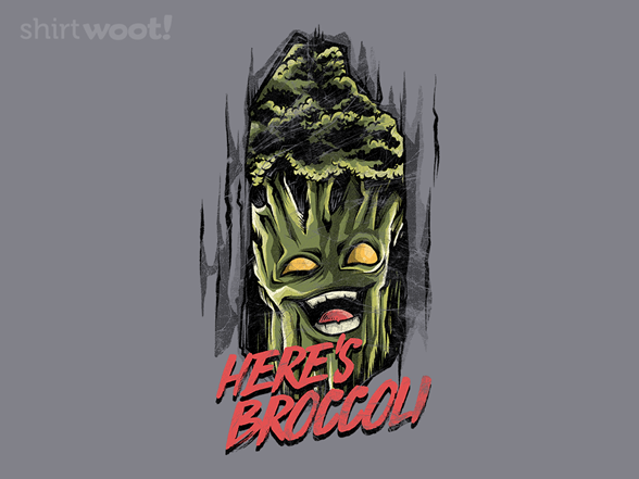 Here's Broccoli! T Shirt