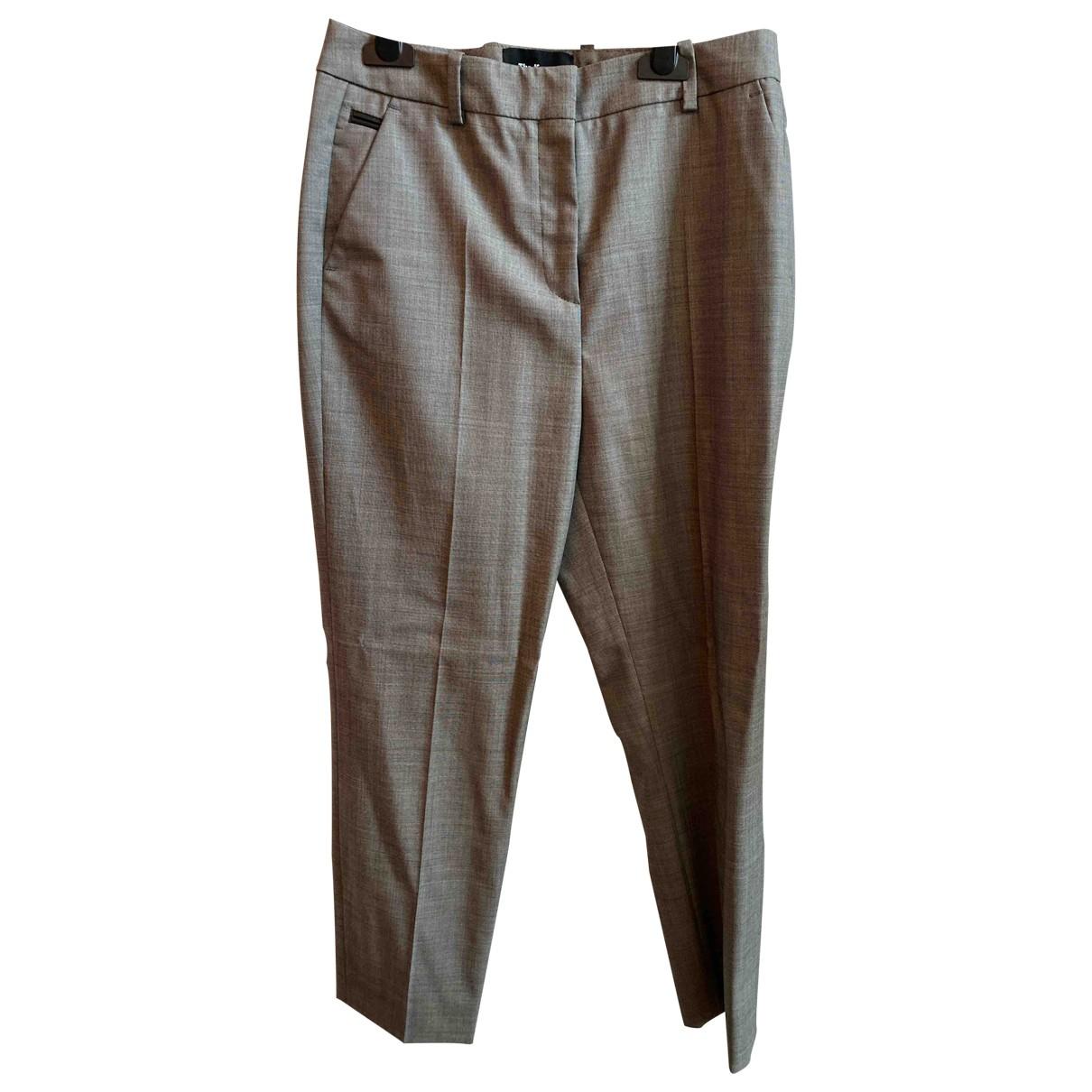 Pantalon recto de Lana The Kooples