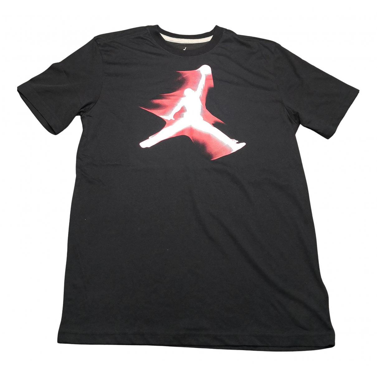 Jordan - Tee shirts   pour homme en coton - noir