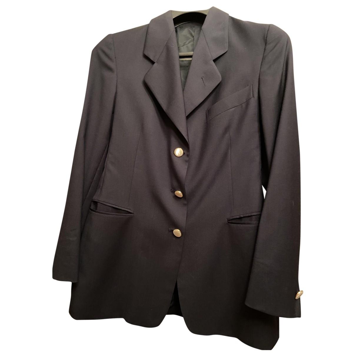 Burberry \N Blue Cotton jacket for Women 44 IT