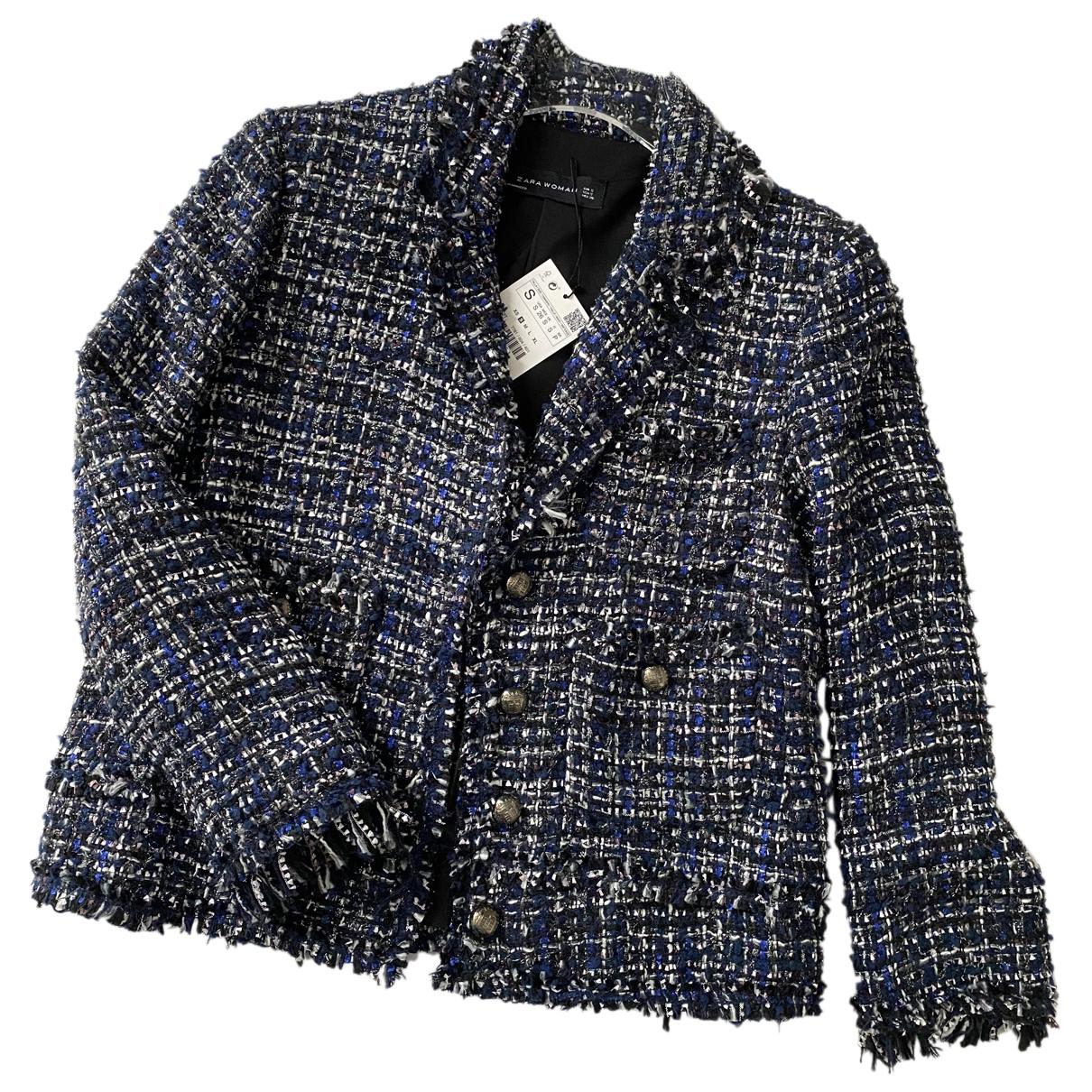 Zara N Blue Tweed jacket for Women S International