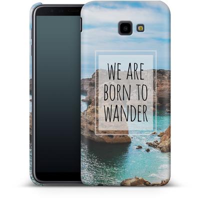 Samsung Galaxy J4 Plus Smartphone Huelle - Born to Wander von Joel Perroden