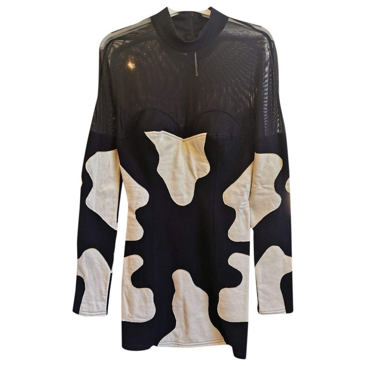 Non Signe / Unsigned \N Kleid in Synthetik