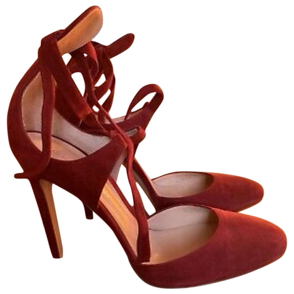 Gianvito Rossi \N Red Leather Sandals for Women 39 IT