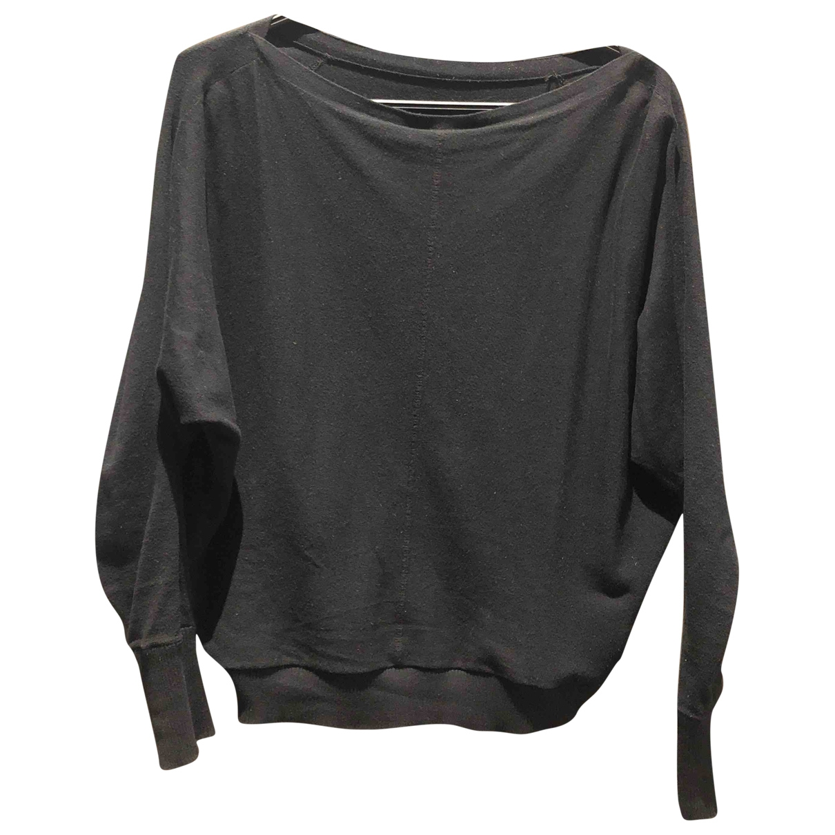 All Saints \N Pullover in  Schwarz Baumwolle