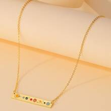Girls Planet Charm Necklace