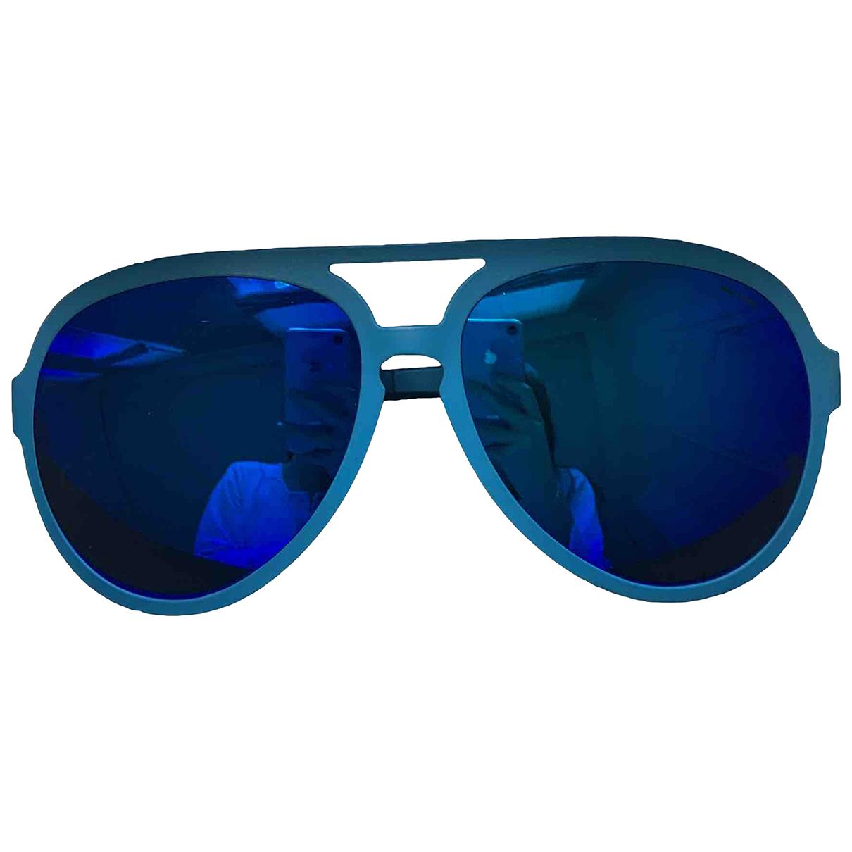 Italia Independent - Lunettes   pour homme - bleu