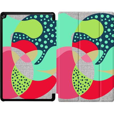 Amazon Fire HD 10 (2017) Tablet Smart Case - Naive III von Susana Paz