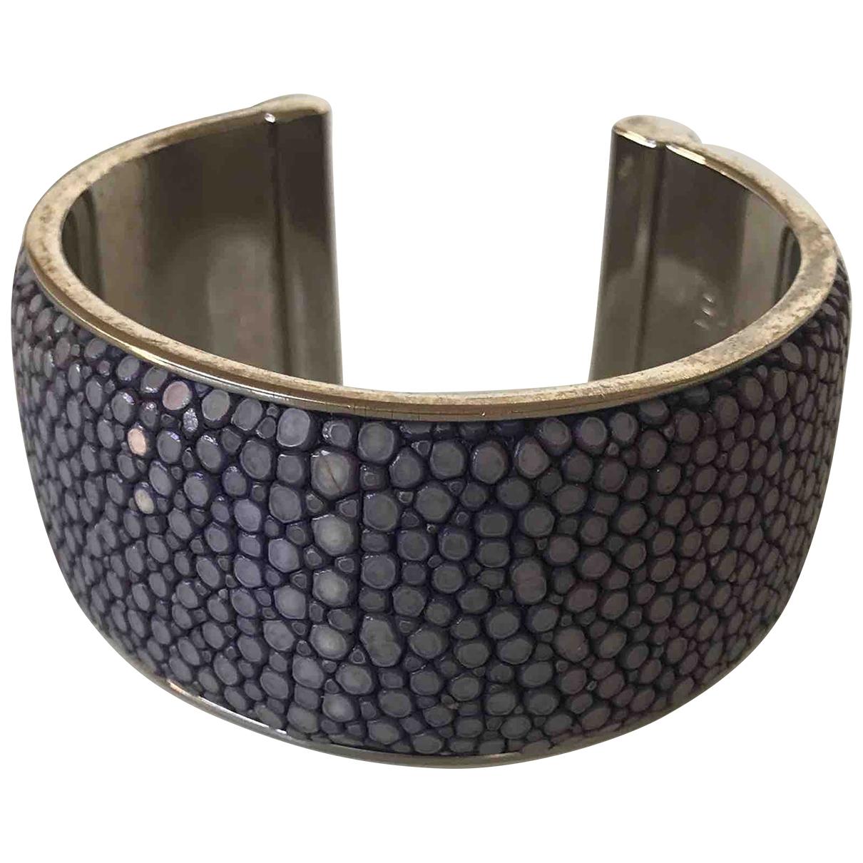 Patrizia Pepe - Bracelet   pour femme en galuchat - bleu