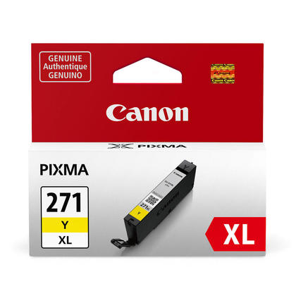 Canon CLI-271XLY 0339C001 Original Yellow Ink Cartridge High Yield