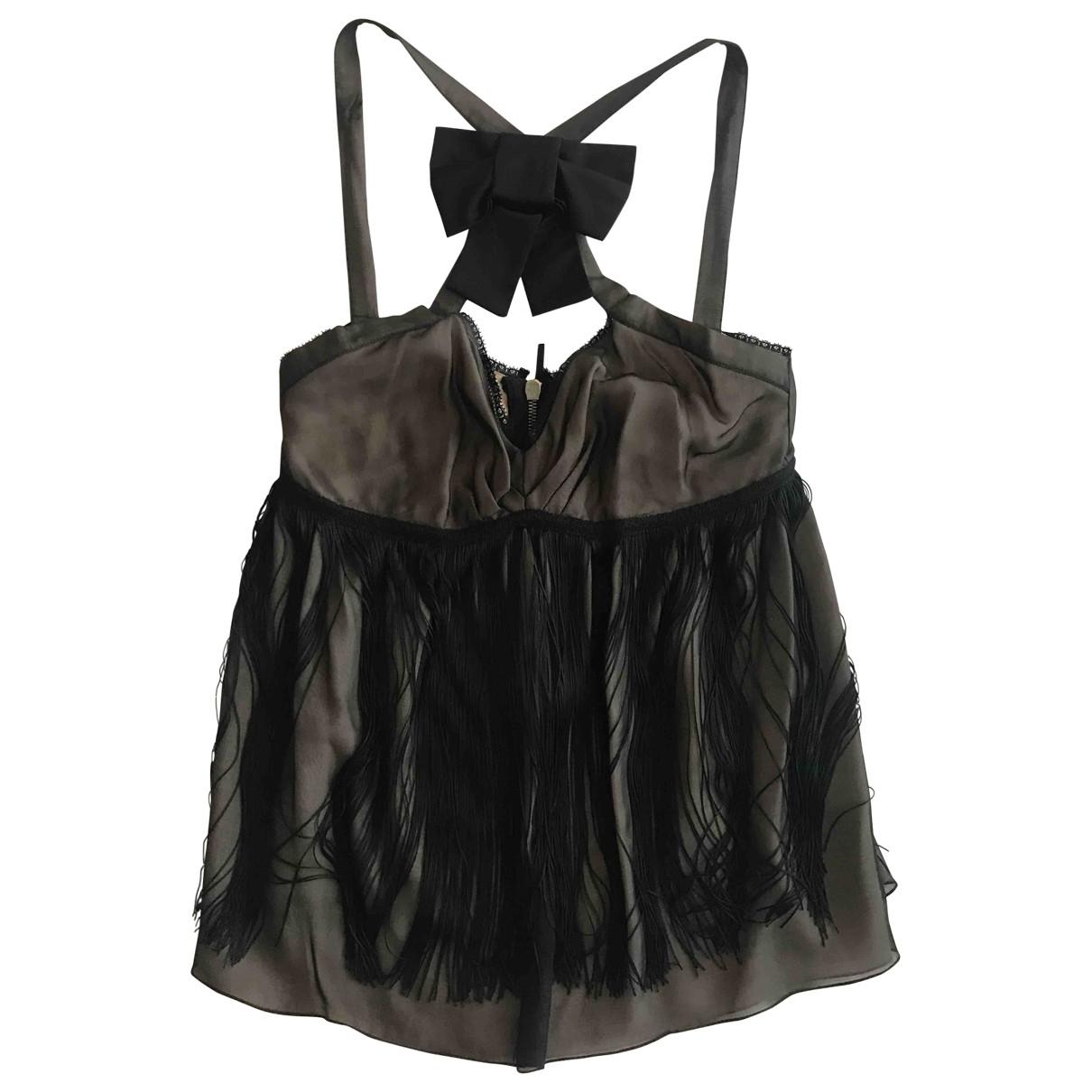D&g \N Black Silk  top for Women 42 IT