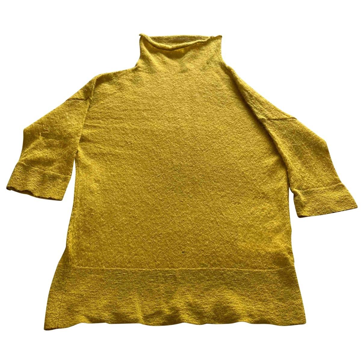 Ohne Titel - Pull   pour femme en laine - vert