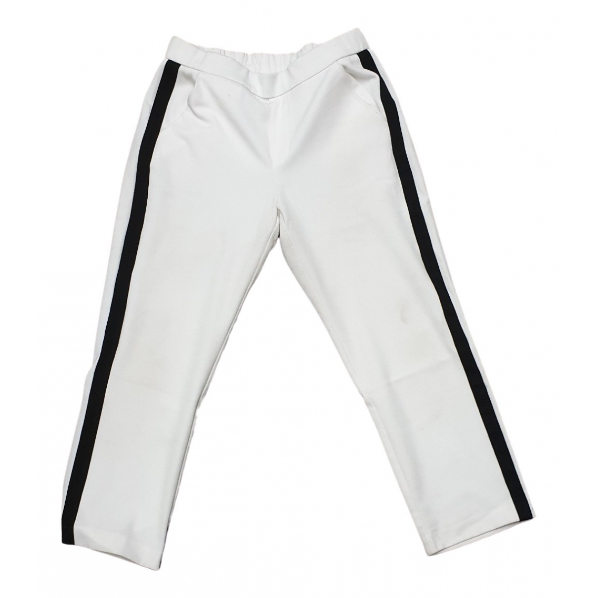 Zara \N White Trousers for Kids 10 years - up to 142cm FR