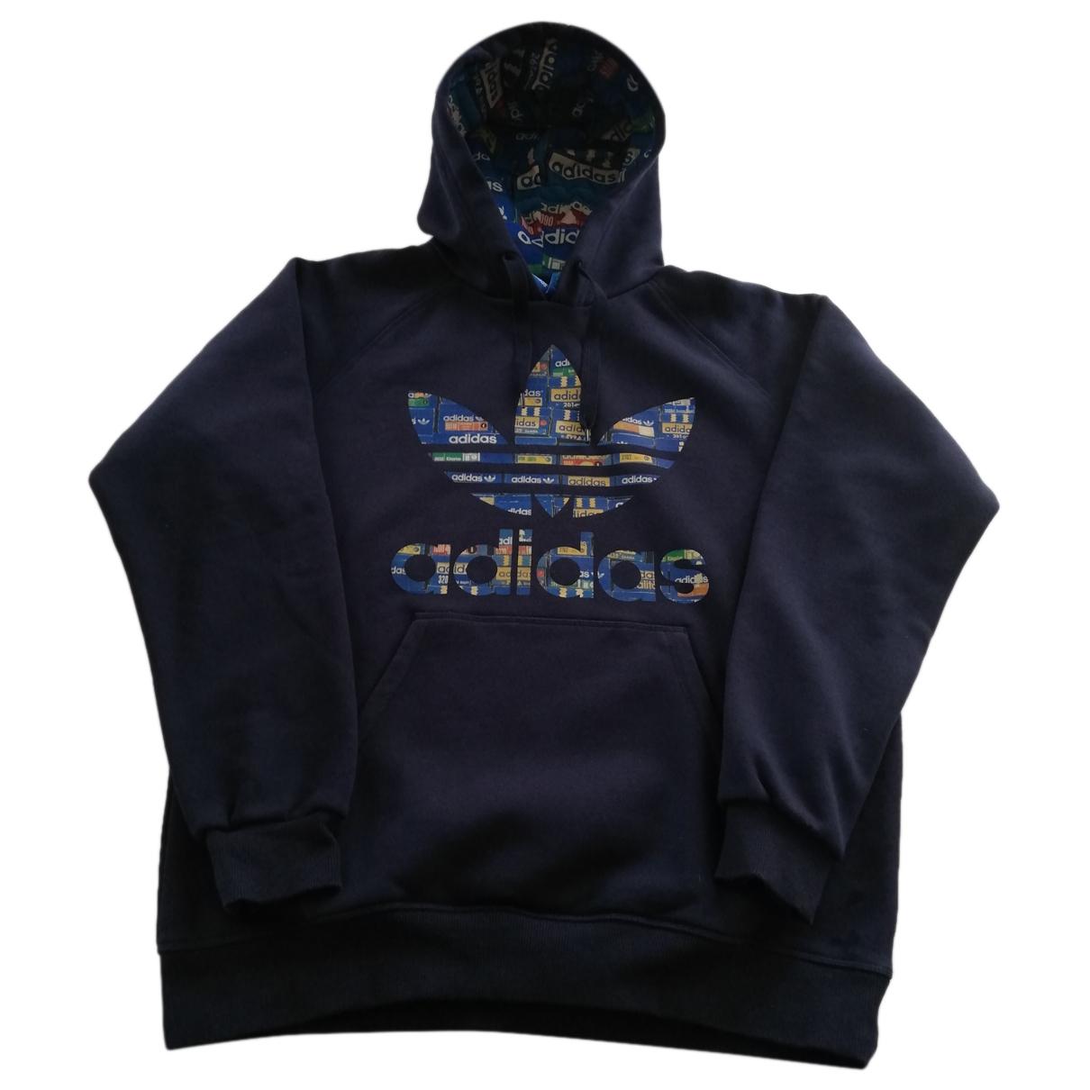 Adidas - Pulls.Gilets.Sweats   pour homme en coton - bleu