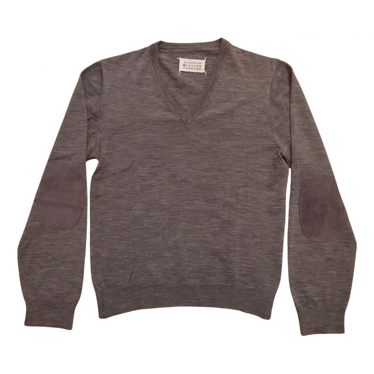 Maison Martin Margiela - Pulls.Gilets.Sweats   pour homme en laine - gris
